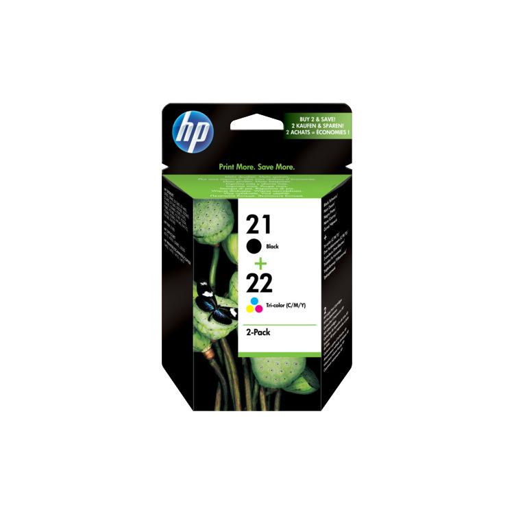 HP Inktpatronenset »HP SD367AE« HP 21 & 22