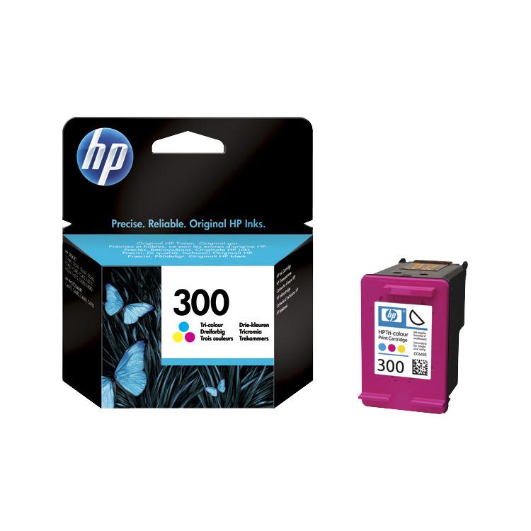 HP Inktpatroon »HP CC643EE« HP 300