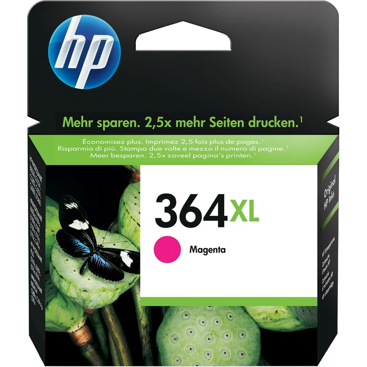 HP 364 XL MAGENTA (CB324EE) Inkt Cartridges