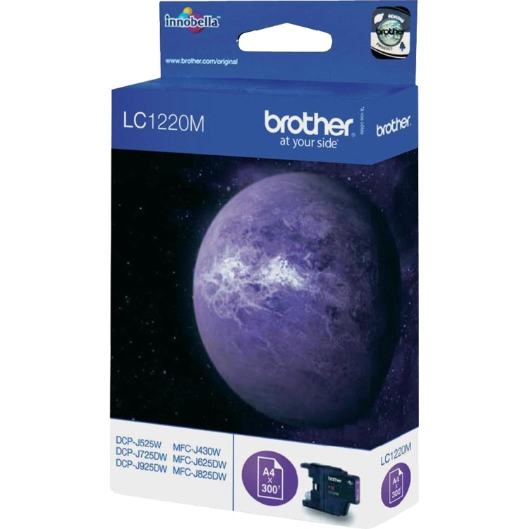 Brother LC-1220M Magenta (rood)