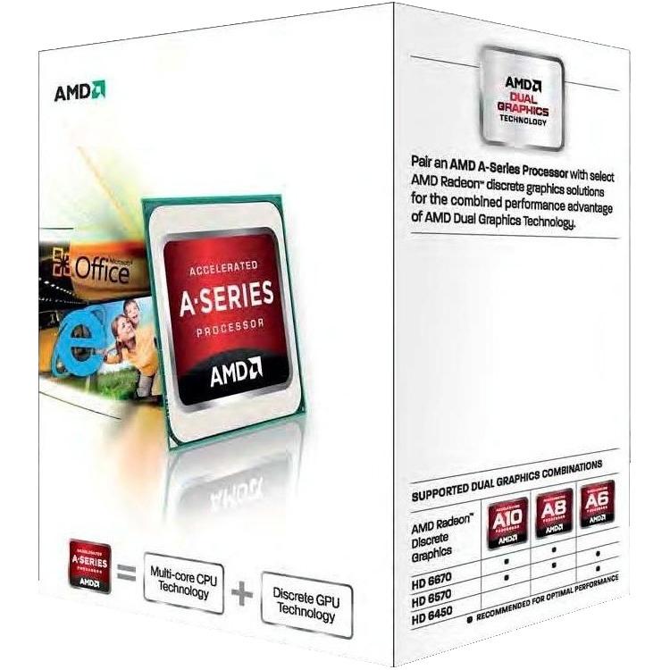 CPU A4 X2 5300 3.6Ghz 1MB FM2  65 watt
