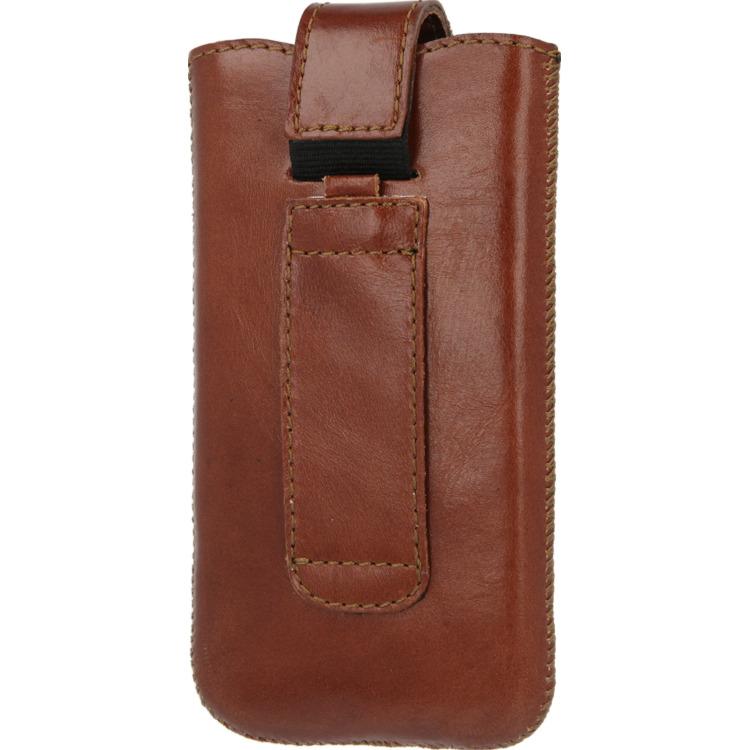 Valenta Pocket Lucca Medium case - bruin