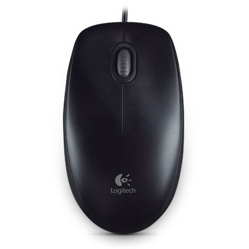 Image of B100 Optical Mouse Black USB