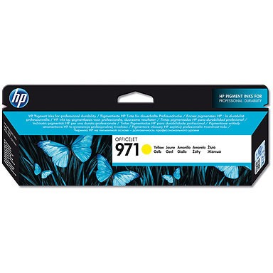 HP 971 Yellow Ink Cartridge (CN624AM)
