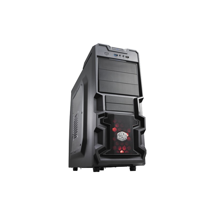 Cooler MasterK380 (Retail, Window-Kit, USB 3.0)