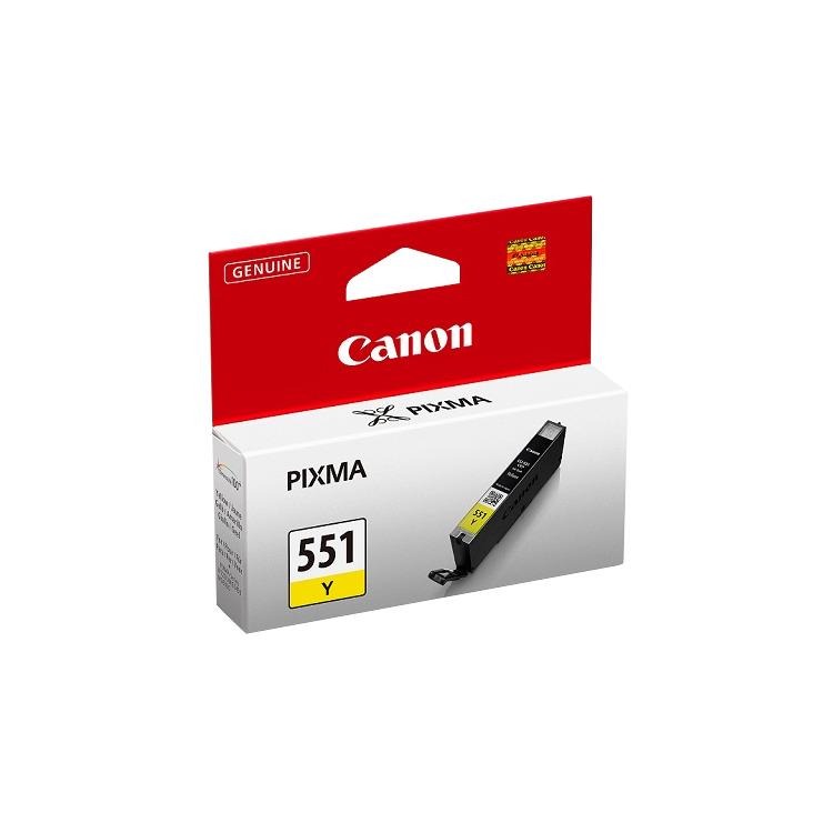 Canon Inktpatroon »CLI-551Y«
