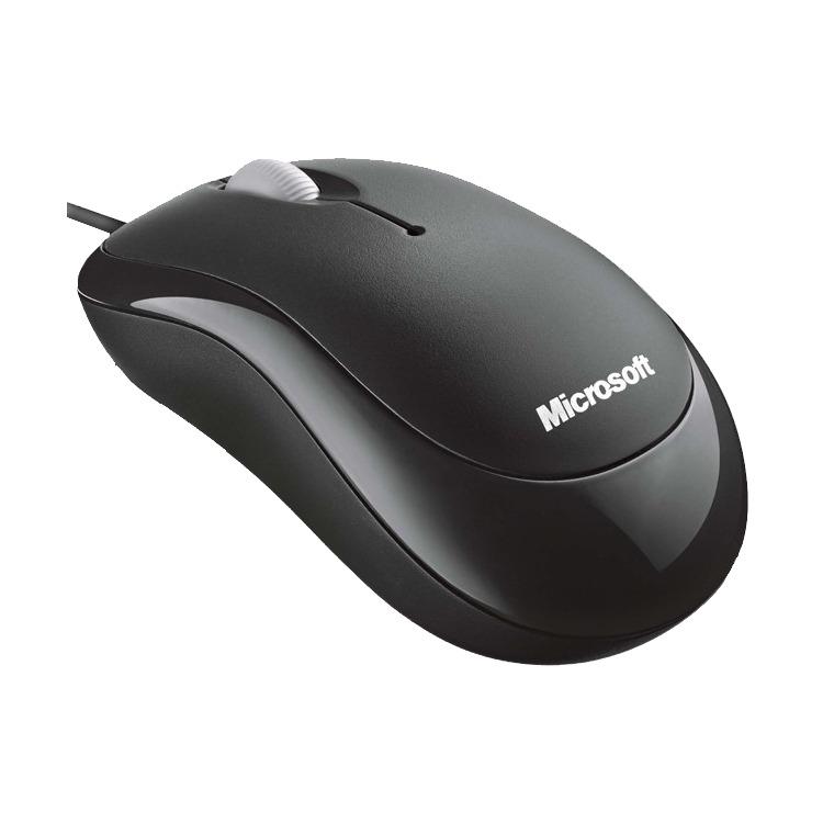 Microsoft Ready Mouse Zwart