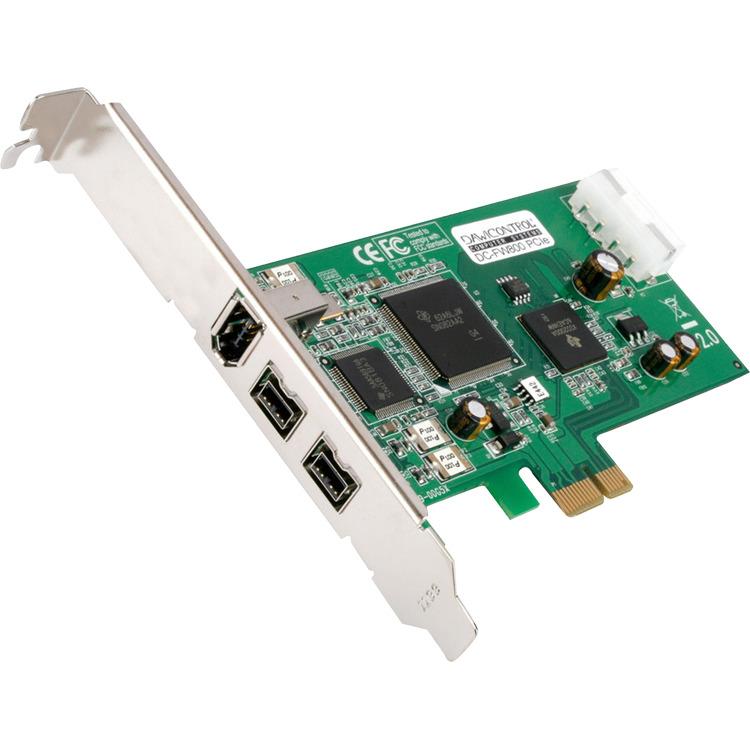 Dawicontrol DC-FW800 PCIe, FireWire controller