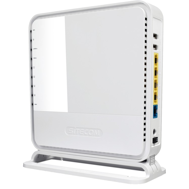 Dual band Wireless-N 2.0 Router, Sitecom, WLR-6100