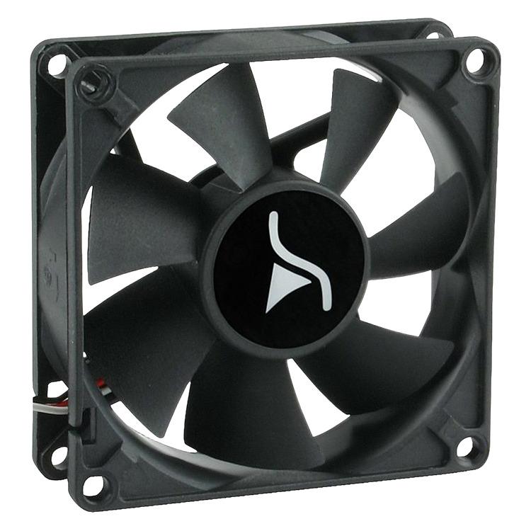 SharkoonSystem Fan S80 (Retail, 3-pins, Silent)