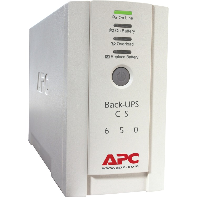 APC BK650EI Back UPS CS 650VA 400W Input 230V Output 230V Interface Port DB-9 RS-232 USB