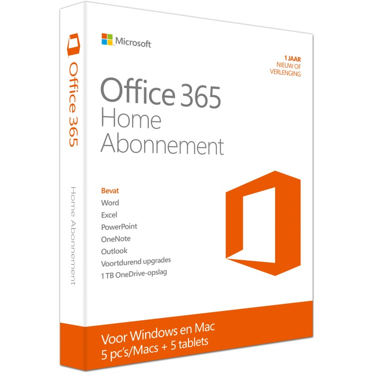 Office 365 Home Premium Dutch, Microsoft