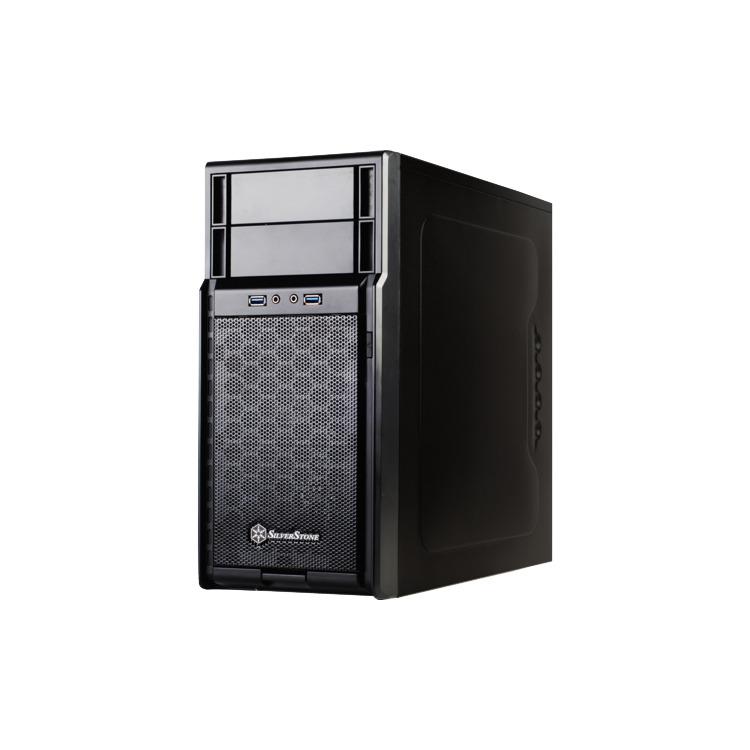 SilvStone PS08B USB 3.0          bk mATX