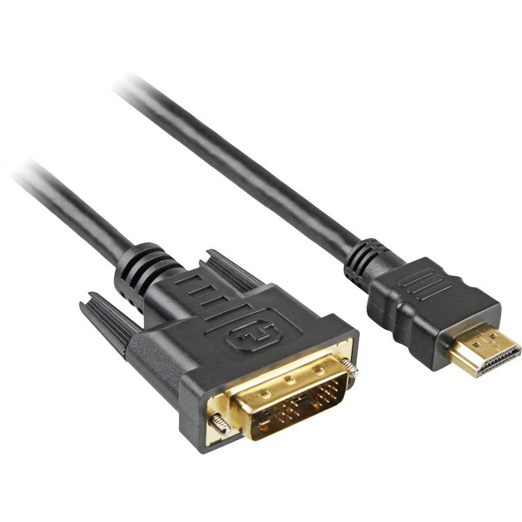 HDMI > DVI-D Kabel 2m