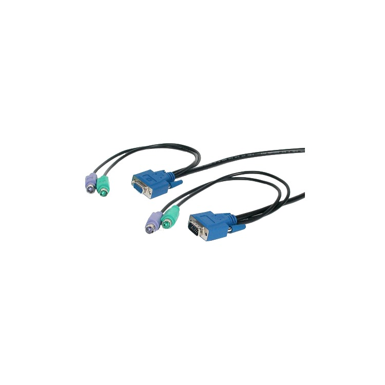 NEWSTAR KVM SWITCH CABLE PS/2 3-IN-1 H