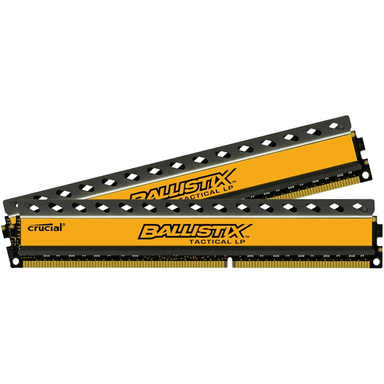 Image of Ballistix Tactical LP 8GB(2x4GB) DDR3L