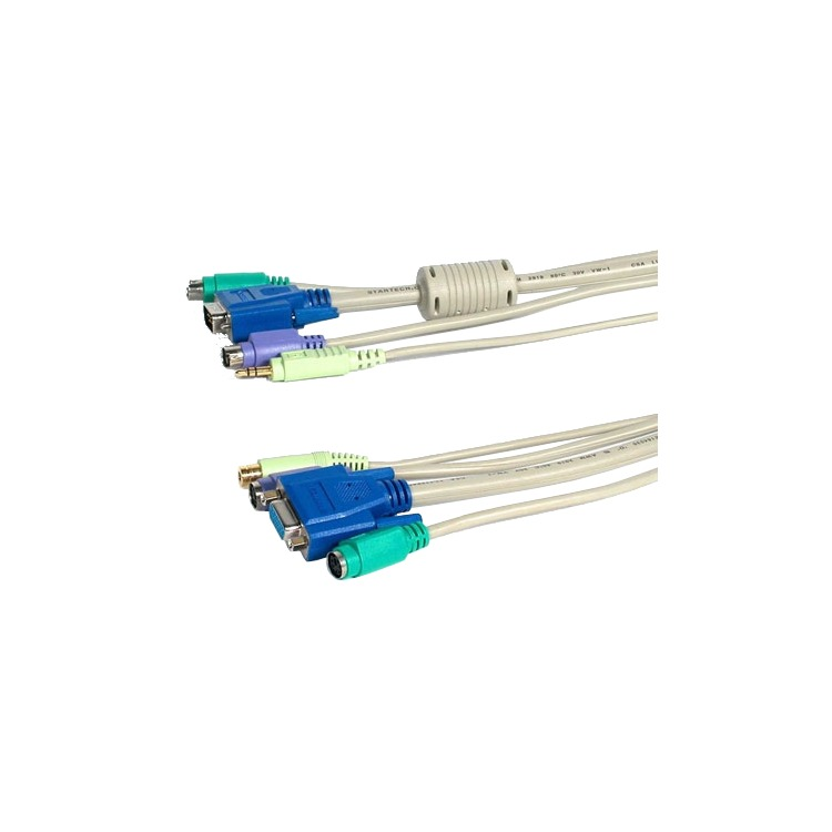 Newstar KVM Extension Cable, PS/2, audio
