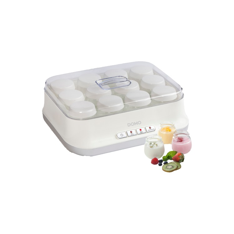 Image of Domo DO2306Y yogurt maker