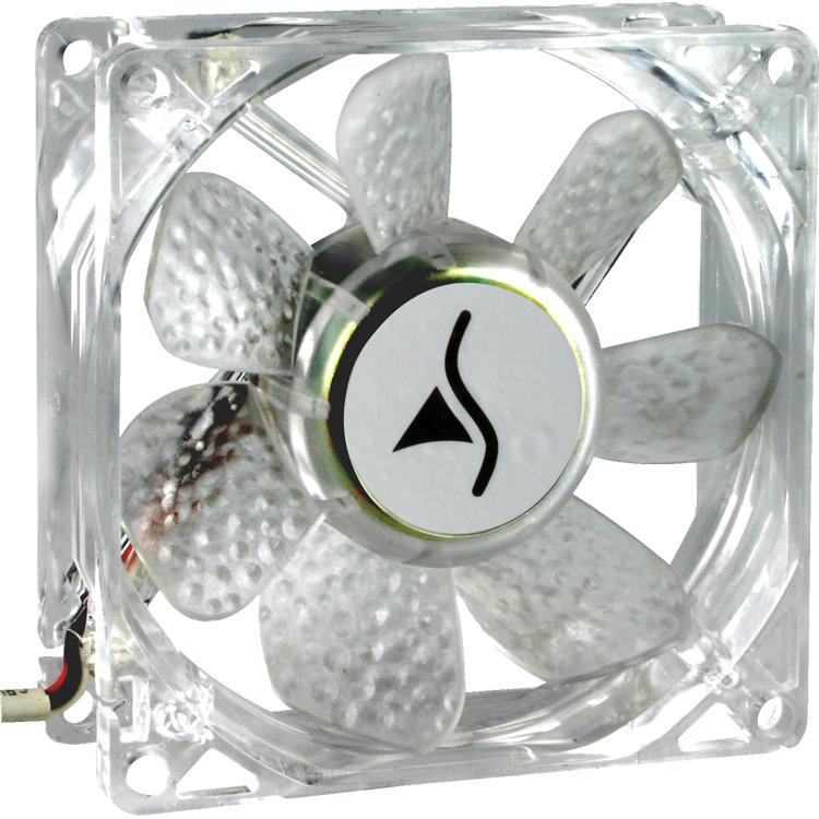SharkoonSilent Eagle LED 2000 (Retail, 3-pins/4-pins, Blauw)