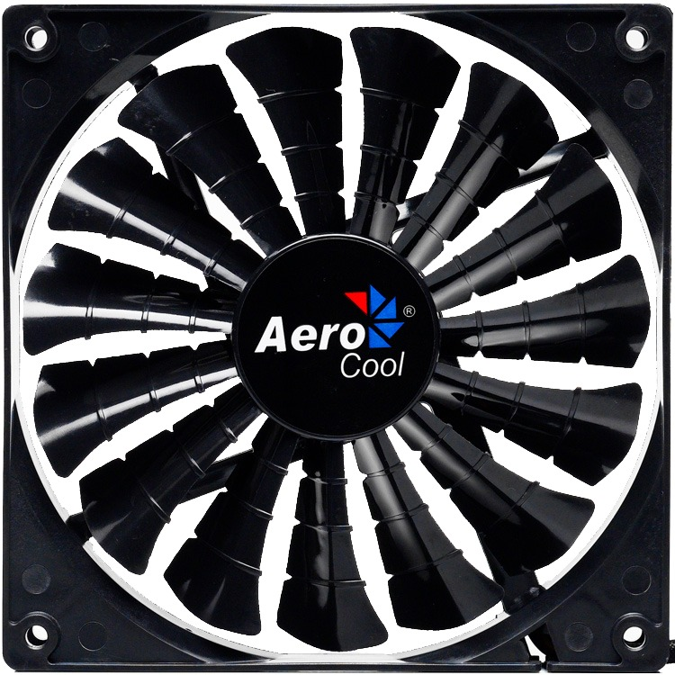 Image of Aerocool Shark Fan Black Edition 12cm