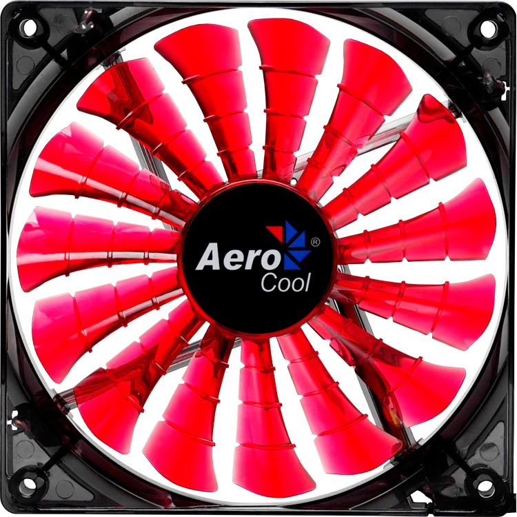 Image of Aerocool Shark Fan Devil Red Edition 14cm