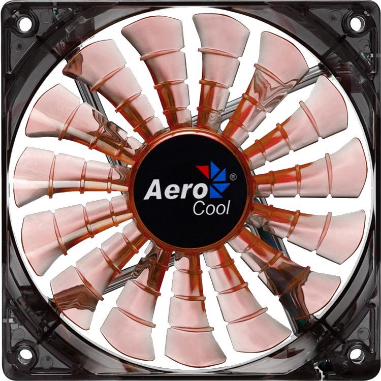 AerocoolShark Fan 14cm Evil Black Edition (3-Pin-aansluiting)