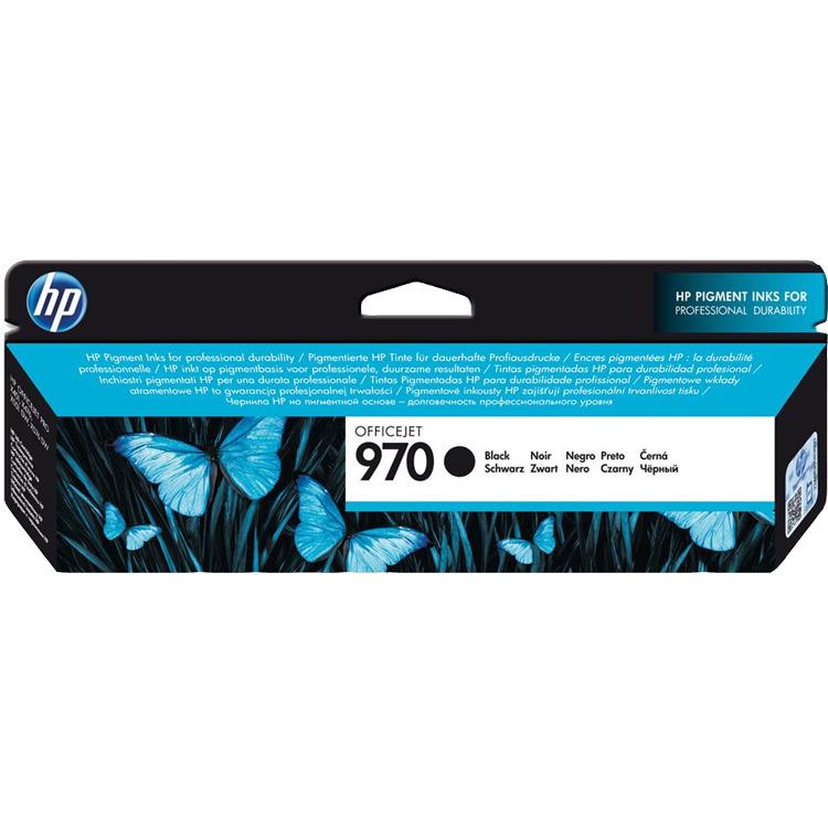 HP 970 Black Ink Cartridge (CN621AM)