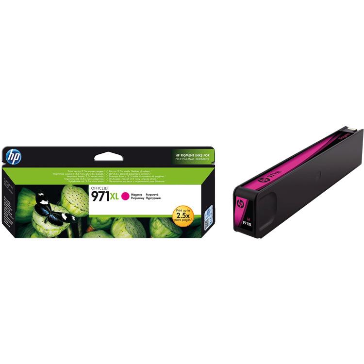 HP 971XL Magenta Ink Cartridge (CN627AM)