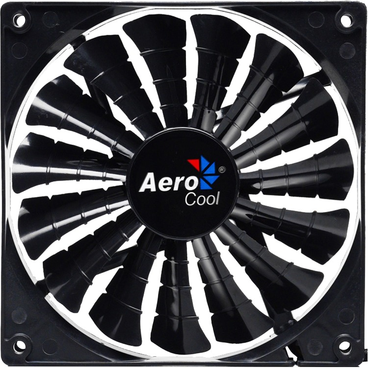 Aerocool Shark Fan 14cm Black Edition