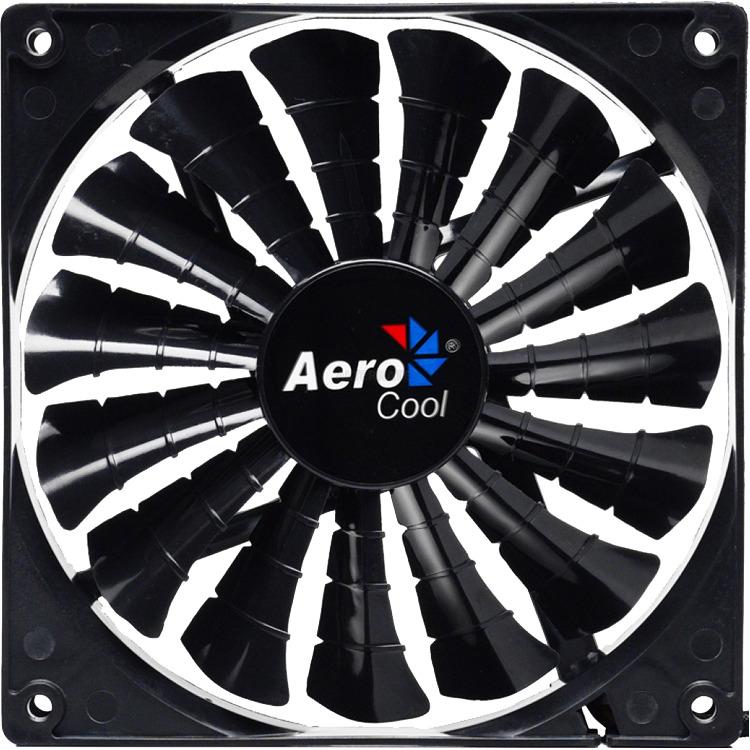 AerocoolShark Fan 14cm Black Edition