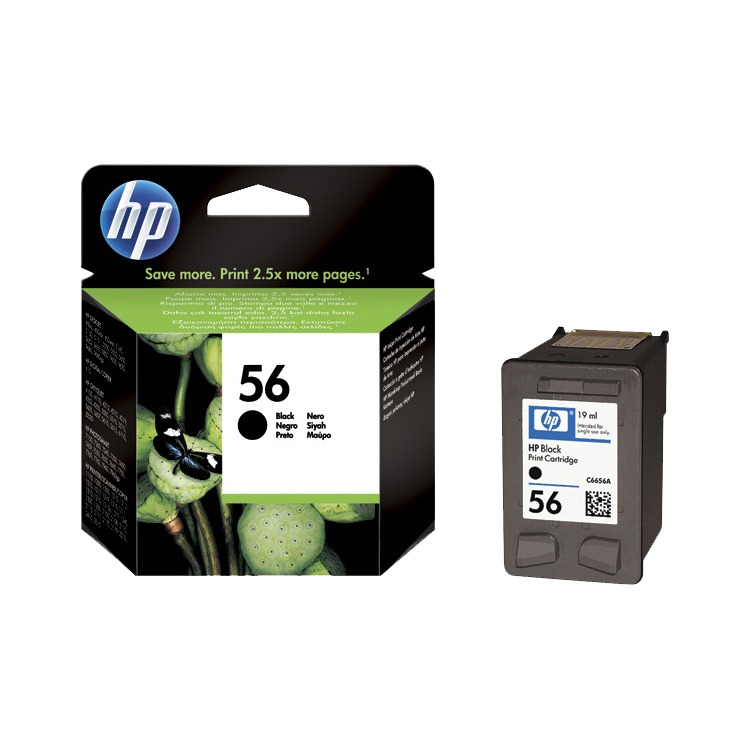 HP Inktpatroon »HP C6656AE« HP 56