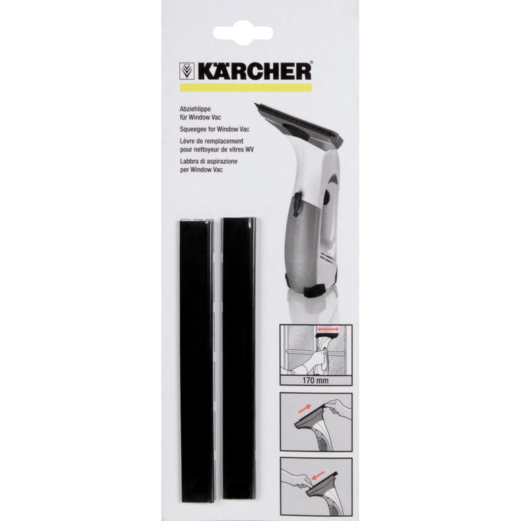 Karcher Vervangstrip rubber 170 mm (2 stuks) Accessoire