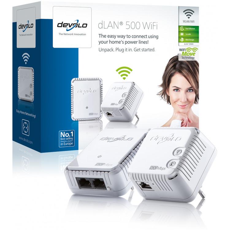 dLAN 500 WiFi Starter Kit