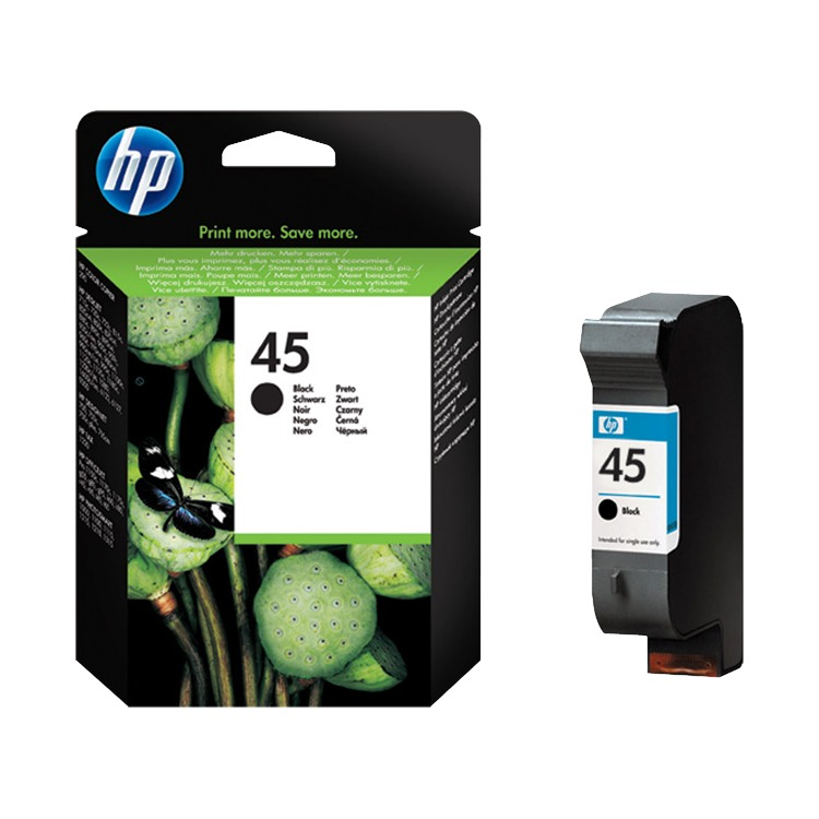 HP 45 - Inktcartridge / Zwart