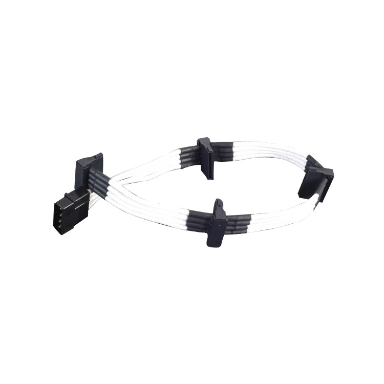 Adapter 4-Pin Molex > 4x 15-Pin SATA 30cm