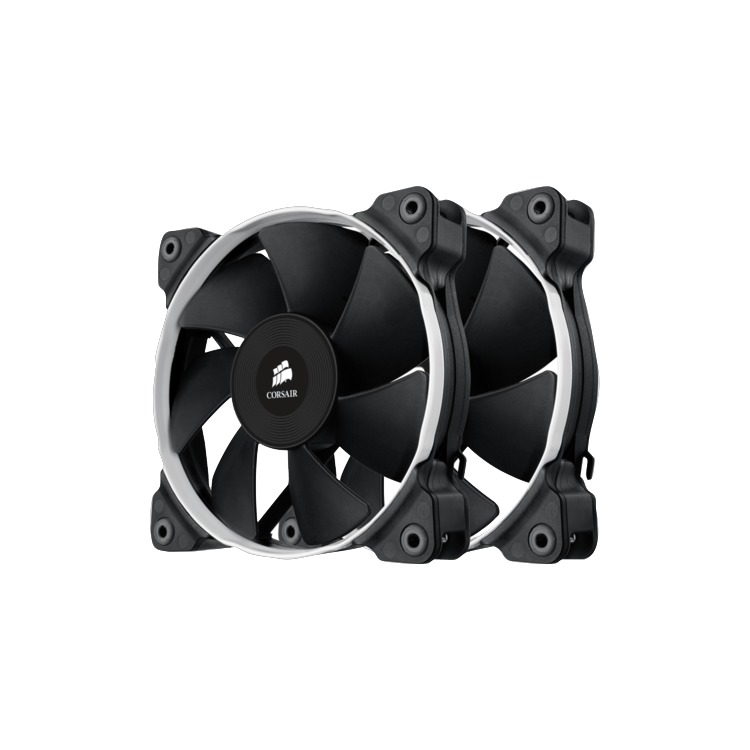 Corsair Fan SP120 PWM High Pressure Fan120mm x 25mm 4 pin Dual Pack