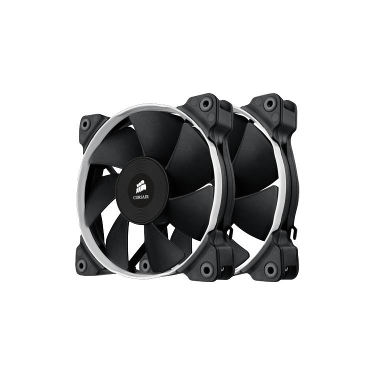 Corsair Fan SP120 PWM High Pressure Fan120mm x 25mm 4 pin Dual Pack