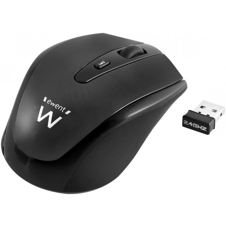 Eminent EW3215 - Draadloze muis - Zwart