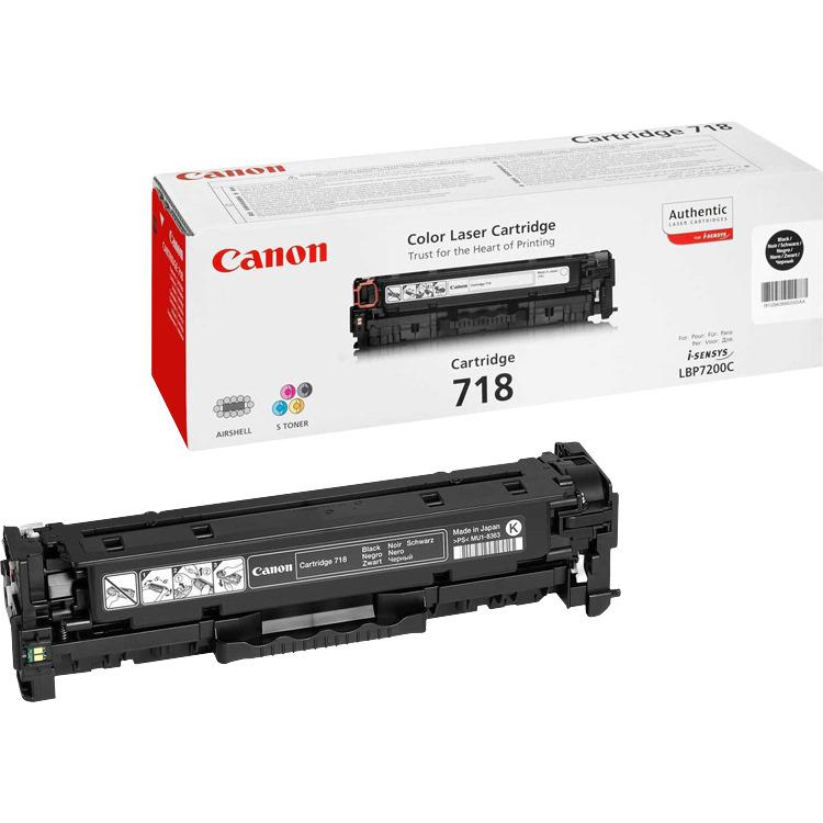 Canon Tonercartridge »718Bk«
