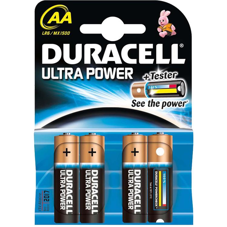 Duracell Ultra Power - 4xAA