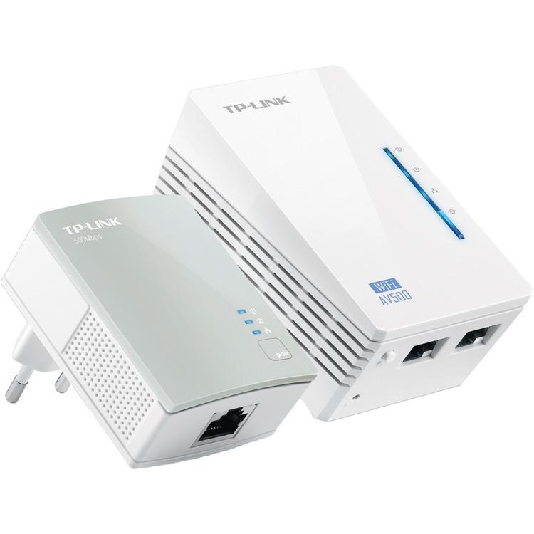 TP-LINK WiFi Homeplug Kit 500mbps- TL-WPA4220KIT