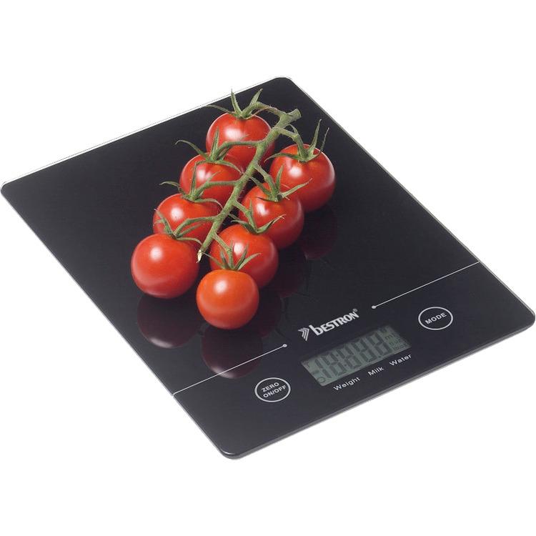 Bestron Keukenweegschaal AKS700Z - Zwart