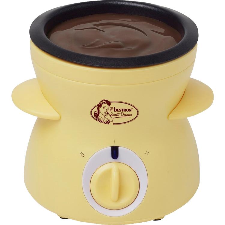 Bestron DCM043 compacte chocolade fondue-smelter -