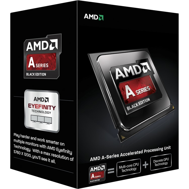 Productafbeelding voor 'A6-6400K, 3,9 GHz (4,1 GHz Turbo Boost)'