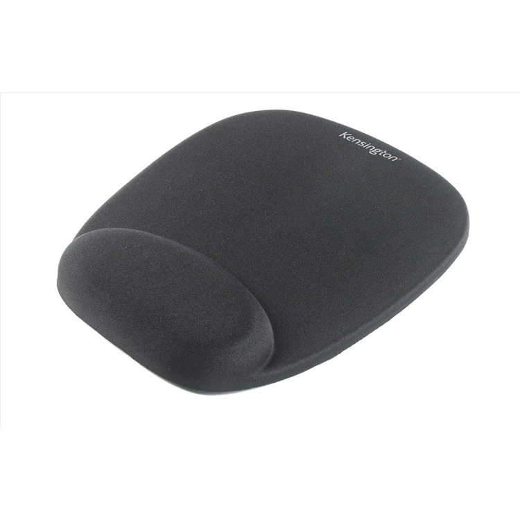 Kensington Foam Mouse Wristrest - Mouse pad with wrist pillow - black
