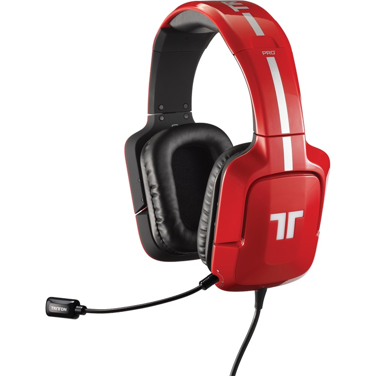 PC Tritton Pro+ True 5.1 Surround Headset rood