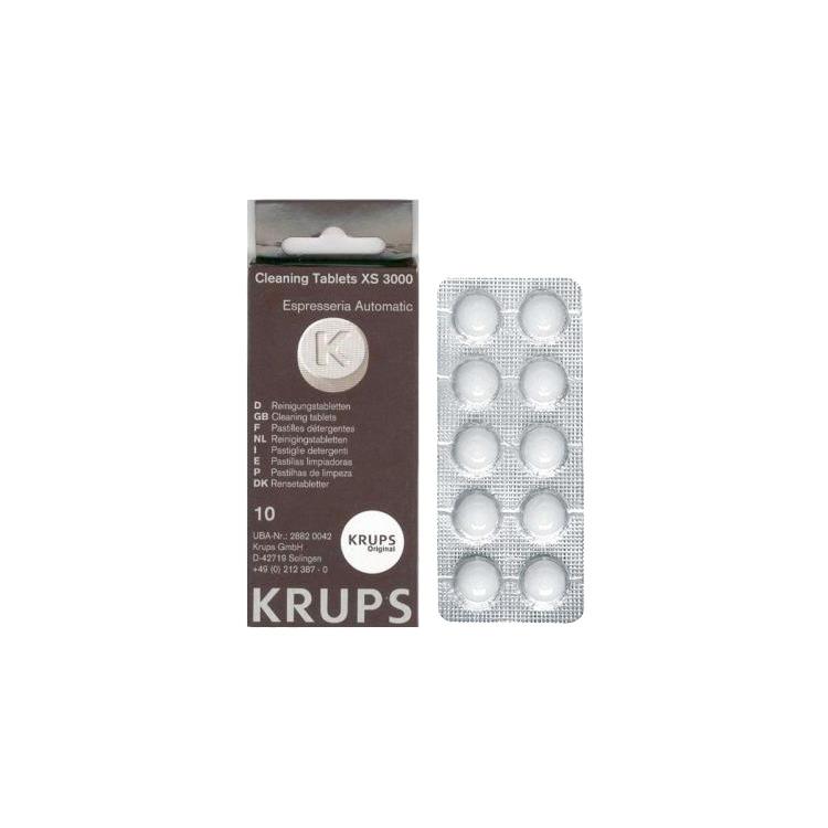 Krups XS 3000 10 stuks Reinigings tabs