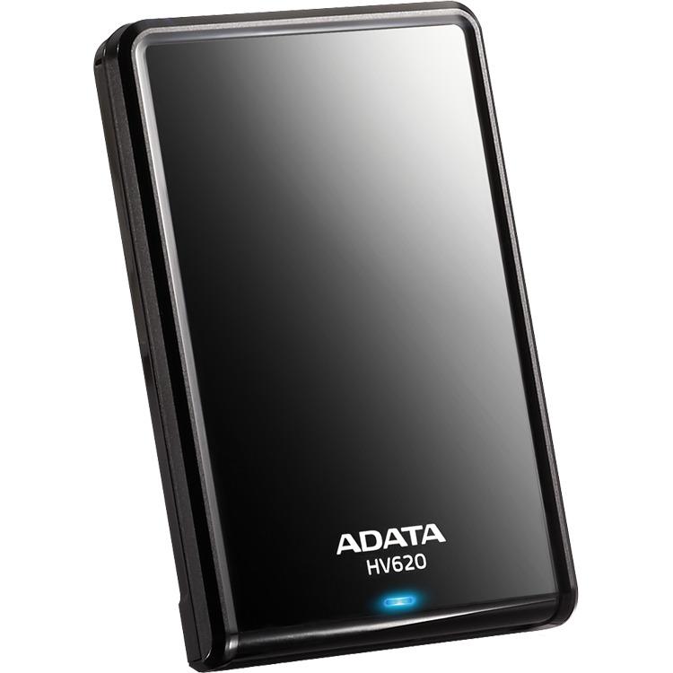 A-DATA DashDrive HV620 - 1000 GB / Zwart