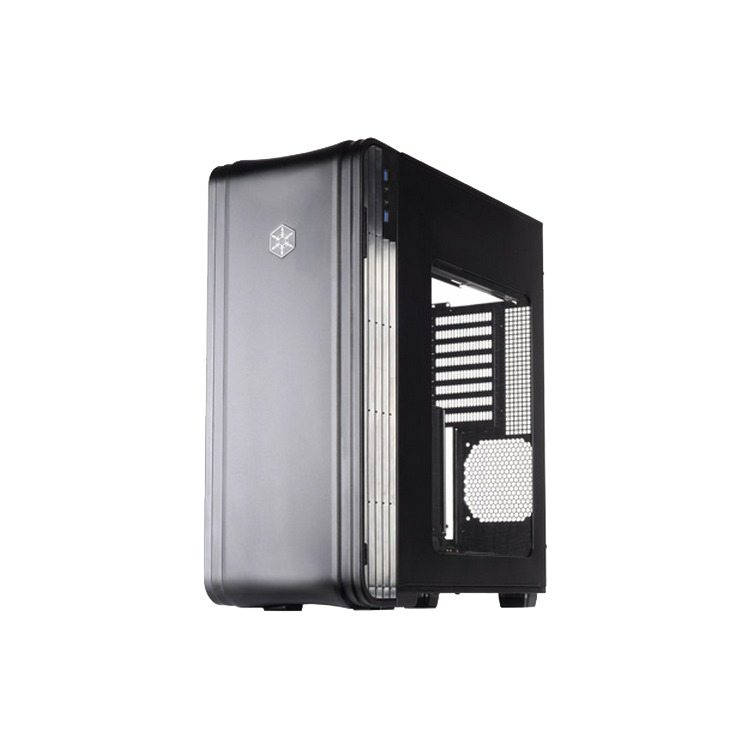Geh Silverstone SST-FT04B-W     Tower  ATX USB3 (F)  zwart r