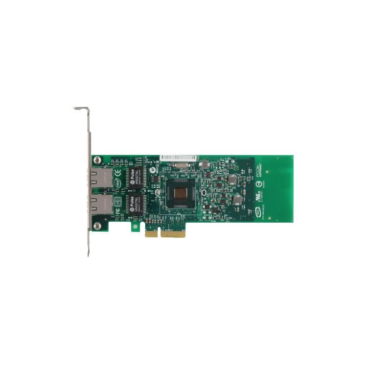 Intel Gigabit ET Dual Port Server Adapter - Network adapter - PCI Express 2.0 x4 low profile - Gigabit Ethernet x 2